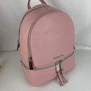 New Michael Kors Rhea Medium Leather Backpack